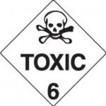 Class 6.1 Dangerous Goods Warning Triangle