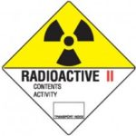 Class 7.2 Dangerous Goods Warning Triangle