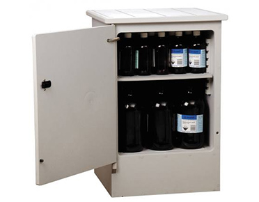 Corrosive-safety-storage-cabinet-–-polyethylene-50L