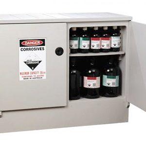 Corrosive-storage-cabinet-–-polyethylene-100L