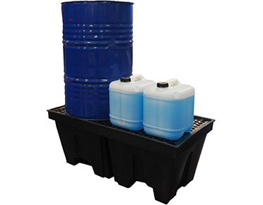 Drum-bund-polyethylene-with-removable-grate-–-two-drum