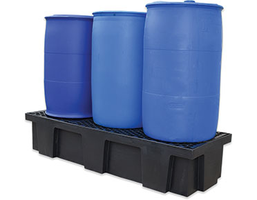 Drum-bund-polyethylene-with-removable-grates-–-three-drum