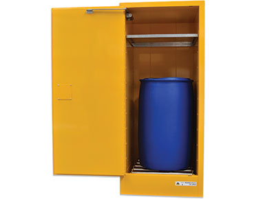 205 Litre Vertical Drum Flammable Liquids Cabinet