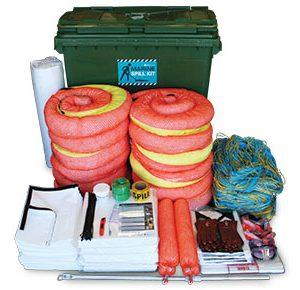 Spill-kit-–-marine-large-mobile-bin-793L-absorbent-capacity