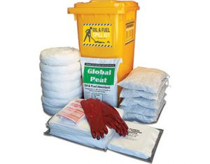Oil & Fuel Indoor Spill Kit - High performance 318L absorbent capacity