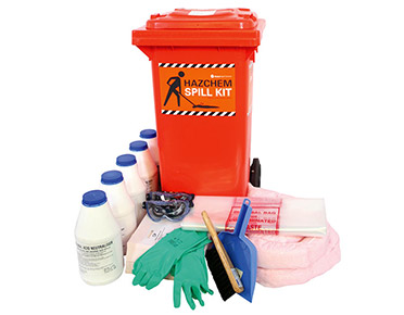 Hazchem Spill Kit - Battery acid 82 litre absorbent capacity