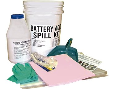 Hazchem Spill Kit - Battery acid 8 litre absorbent capacity