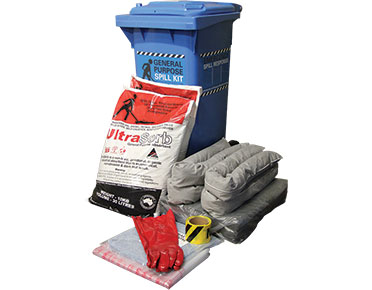 General Purpose Spill Kit - 130L absorbent capacity