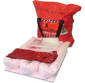 Hazchem Spill Kit - Economy truck bag 35L absorbent capacity