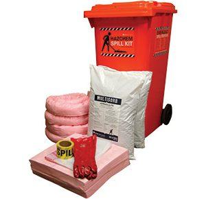 Hazchem Spill Kit - Economy 150L absorbent capacity