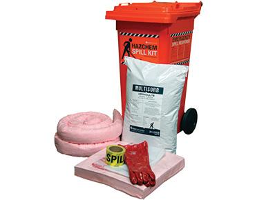 Hazchem Spill Kit - Economy 78L absorbent capacity
