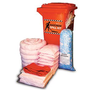 Hazchem Spill Kit - High performance 185L absorbent capacity