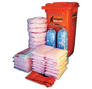 Hazchem Spill Kit - High performance 375L absorbent capacity
