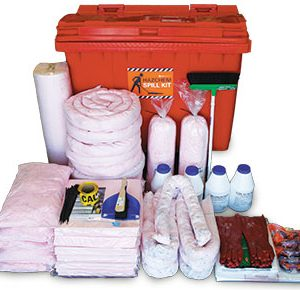 Hazchem Spill Kit - Mobile 795L absorbent capacity