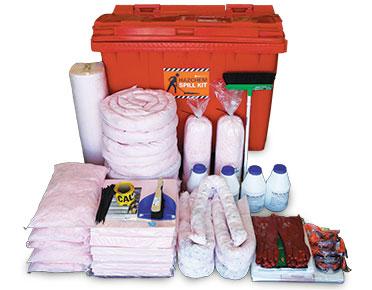 Hazchem Spill Kit - Mobile 795L absorbent capacity