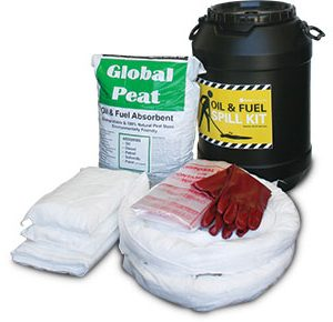 Oil & Fuel Barrel Spill Kit - 75L absorbent capacity