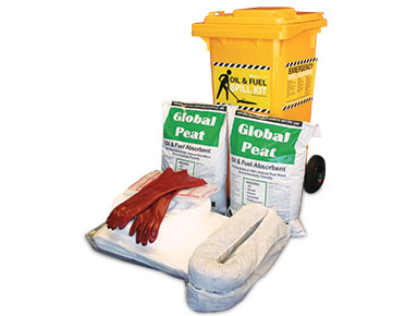 Oil & Fuel Outdoor Spill Kit - Economy plus 135L absorbent capacity