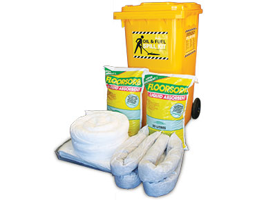 Oil & Fuel Indoor Spill Kit - Economy 168L absorbent capacity