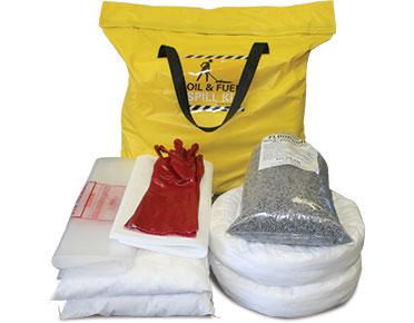 Oil & Fuel Indoor Spill Kit - Indoor station bag 89L absorbent capacity