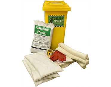 Oil & Fuel Organic Spill Kit - Cotton 220L absorbent capacity