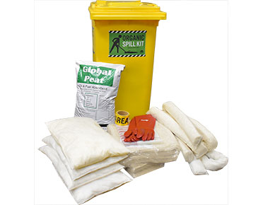 Oil & Fuel Organic Spill Kit - Cotton 330L absorbent capacity