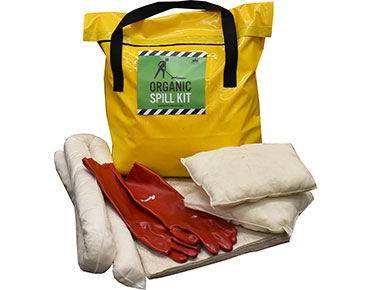 Oil & Fuel Organic Spill Kit - Petrol pack 69L absorbent capacity