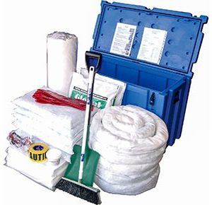 Oil & Fuel Outdoor Spill Kit - Space case 490L absorbent capacity