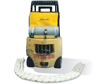 Oil & Fuel Spill Kit - forklift bag 66L absorbent capacity