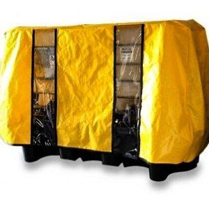Double IBC containment bund – canvacon cover