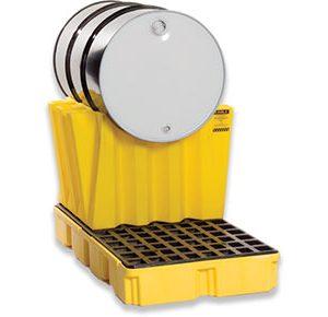 Single horizontal drum stacking system