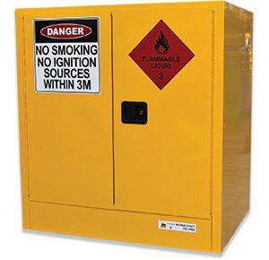 250L Lowline Flammable Liquids Cabinet